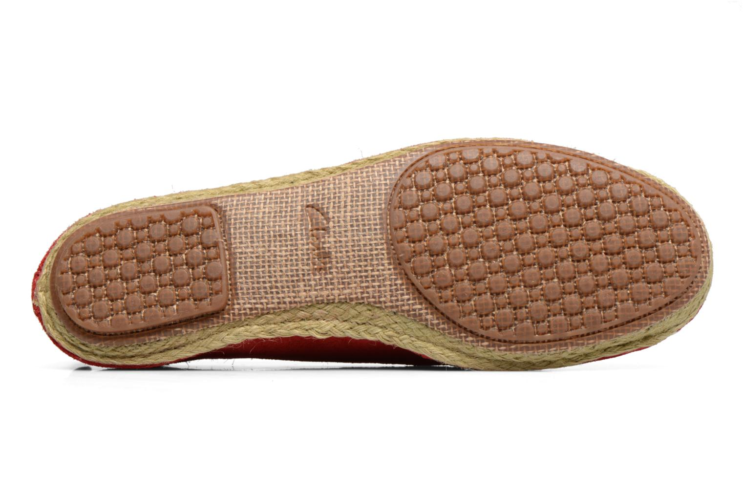 Espadrilles Clarks Clovelly Sun Red view from above