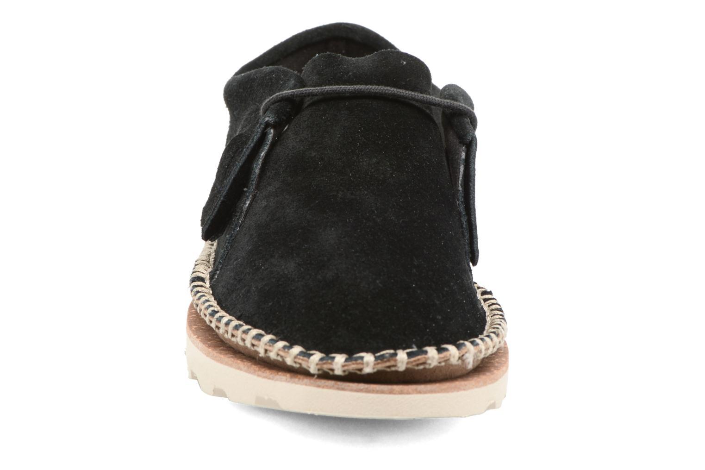 Chaussures à lacets Clarks Damara Thrill Noir vue portées chaussures