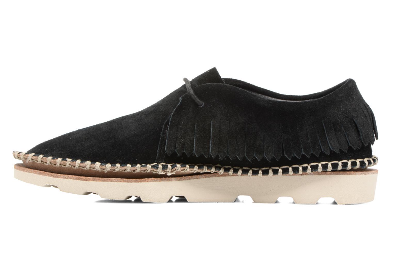 Chaussures à lacets Clarks Damara Thrill Noir vue face