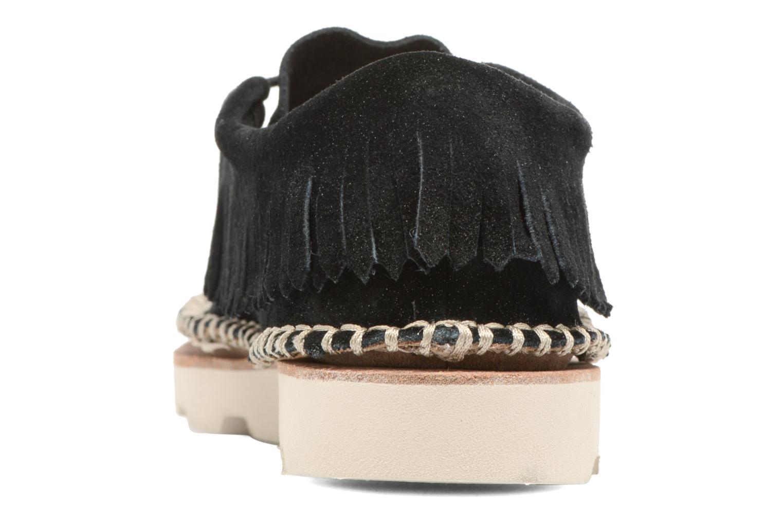 Zapatos con cordones Clarks Damara Thrill Negro vista lateral derecha