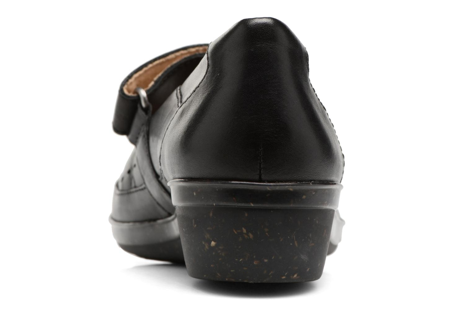 Ballet pumps Clarks Everlay Bai Black view from the right