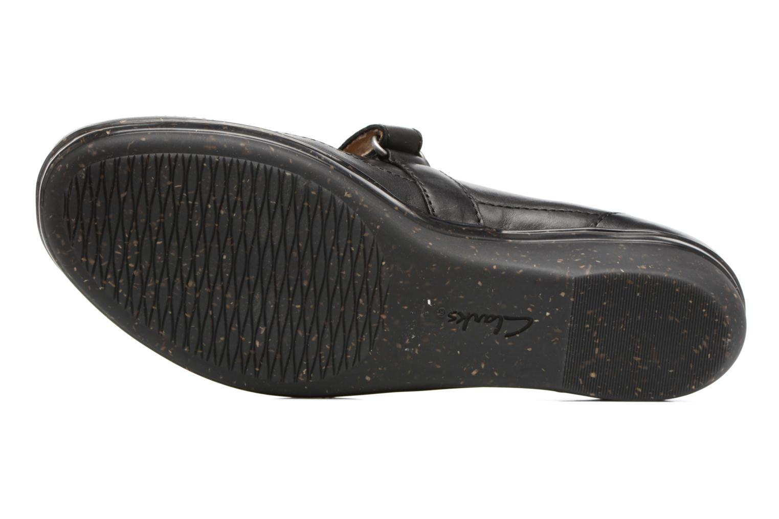Ballet pumps Clarks Everlay Bai Black view from above