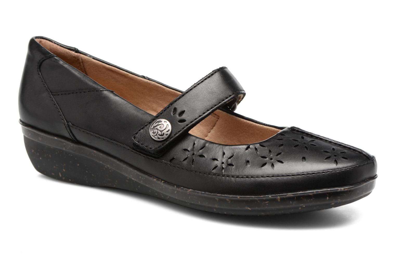 Grandes descuentos últimos zapatos Clarks Everlay Bai (Negro) - Bailarinas Descuento