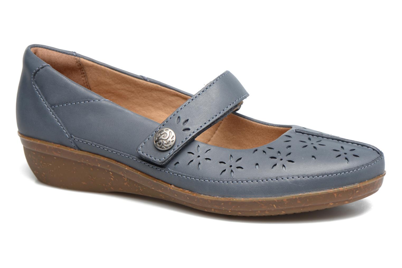 Zapatos promocionales Clarks Everlay Bai (Azul) - Bailarinas   Descuento de la marca