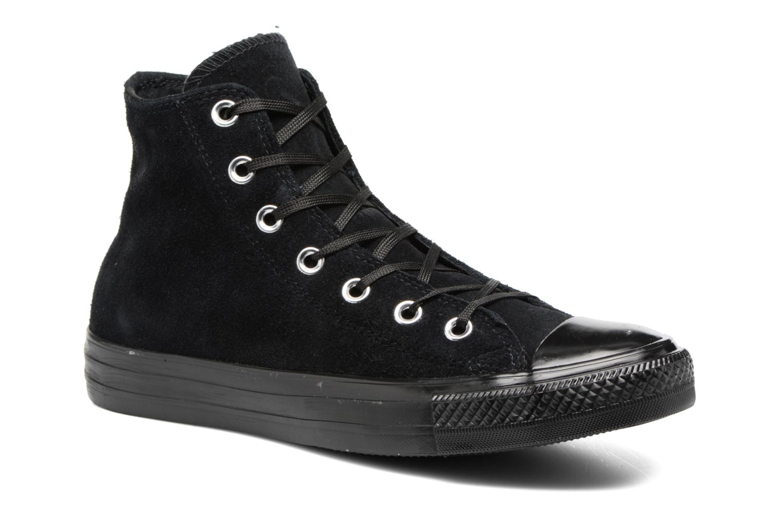 Chuck Taylor All Star Mono Plush Suede Hi Black/black/black