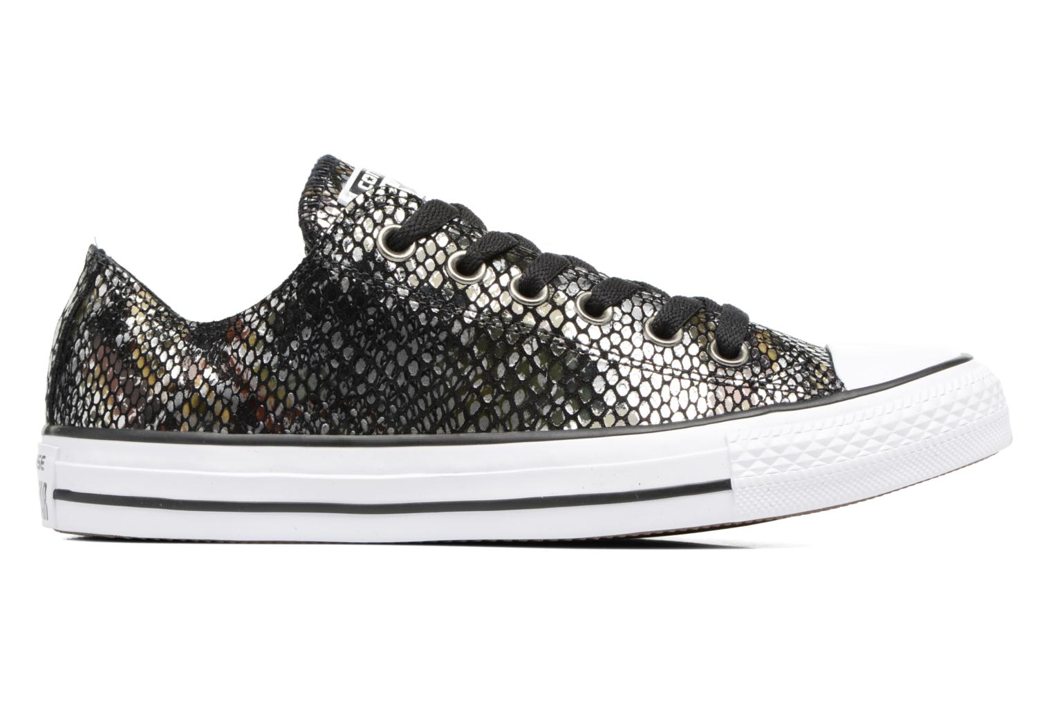 Baskets Converse Chuck Taylor All Star Fashion Snake Ox Noir vue derrière