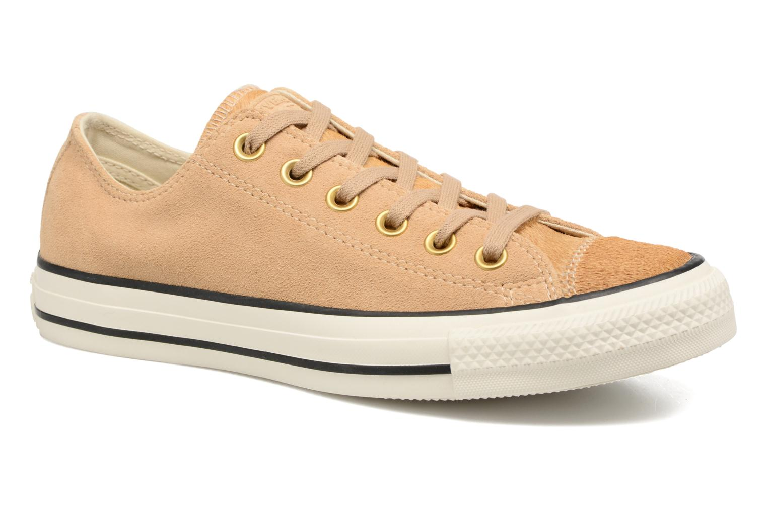 Sneakers Converse Chuck Taylor All Star Pony Hair Ox Beige detail