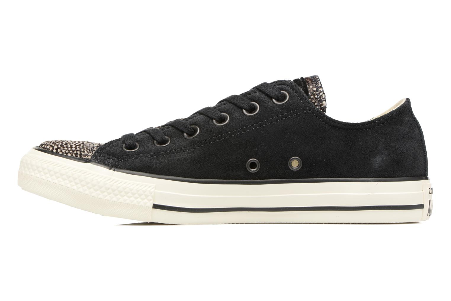 Trainers Converse Chuck Taylor All Star Pony Hair Ox Black front view