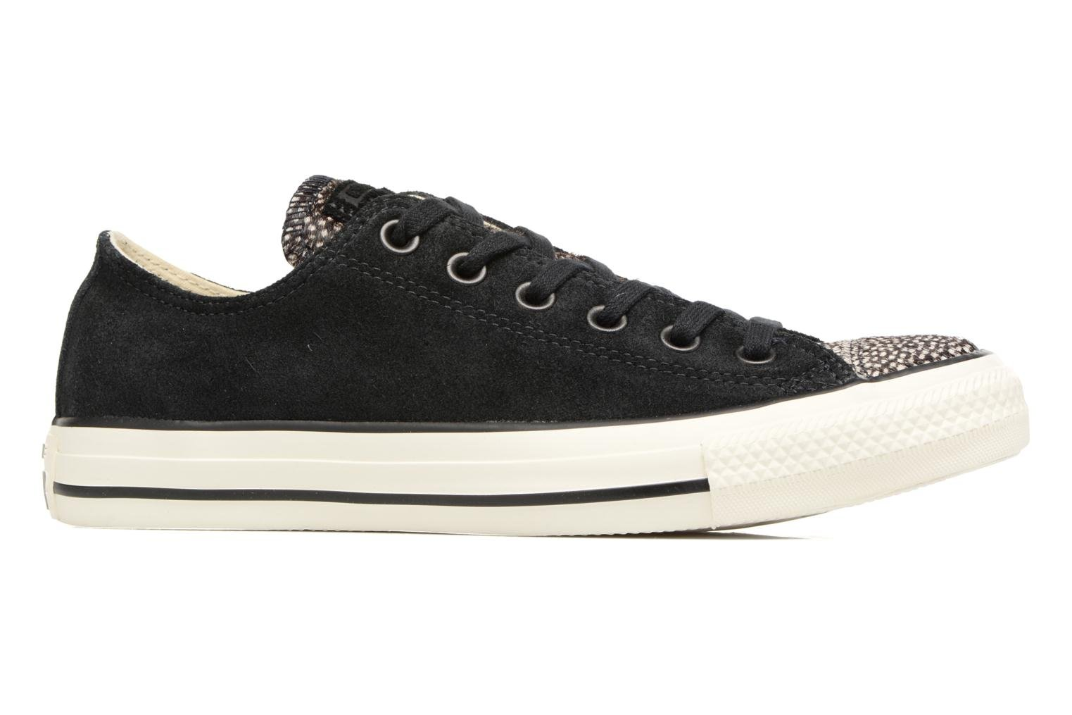 Baskets Converse Chuck Taylor All Star Pony Hair Ox Noir vue derrière