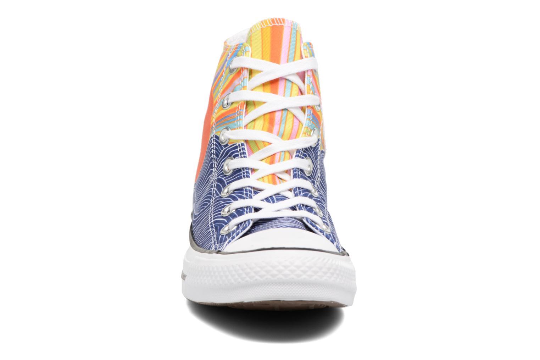 Baskets Converse Chuck Taylor All Star Mara Hoffman Misun Hi Multicolore vue portées chaussures