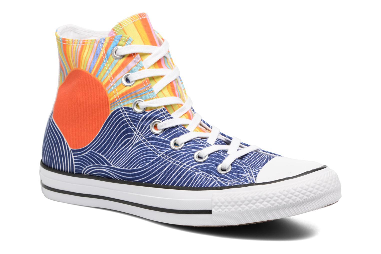 Baskets Converse Chuck Taylor All Star Mara Hoffman Misun Hi Multicolore vue détail/paire