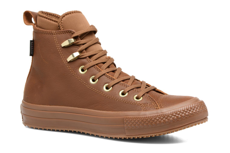 Marques Chaussure femme Converse femme Chuck Taylor WP Boot WP Nubuck Hi Brown/Brown/Brass