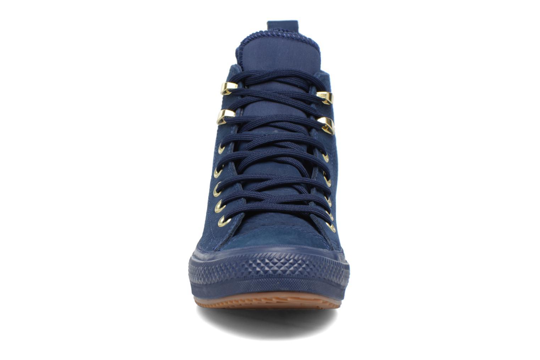 Baskets Converse Chuck Taylor WP Boot WP Nubuck Hi Bleu vue portées chaussures