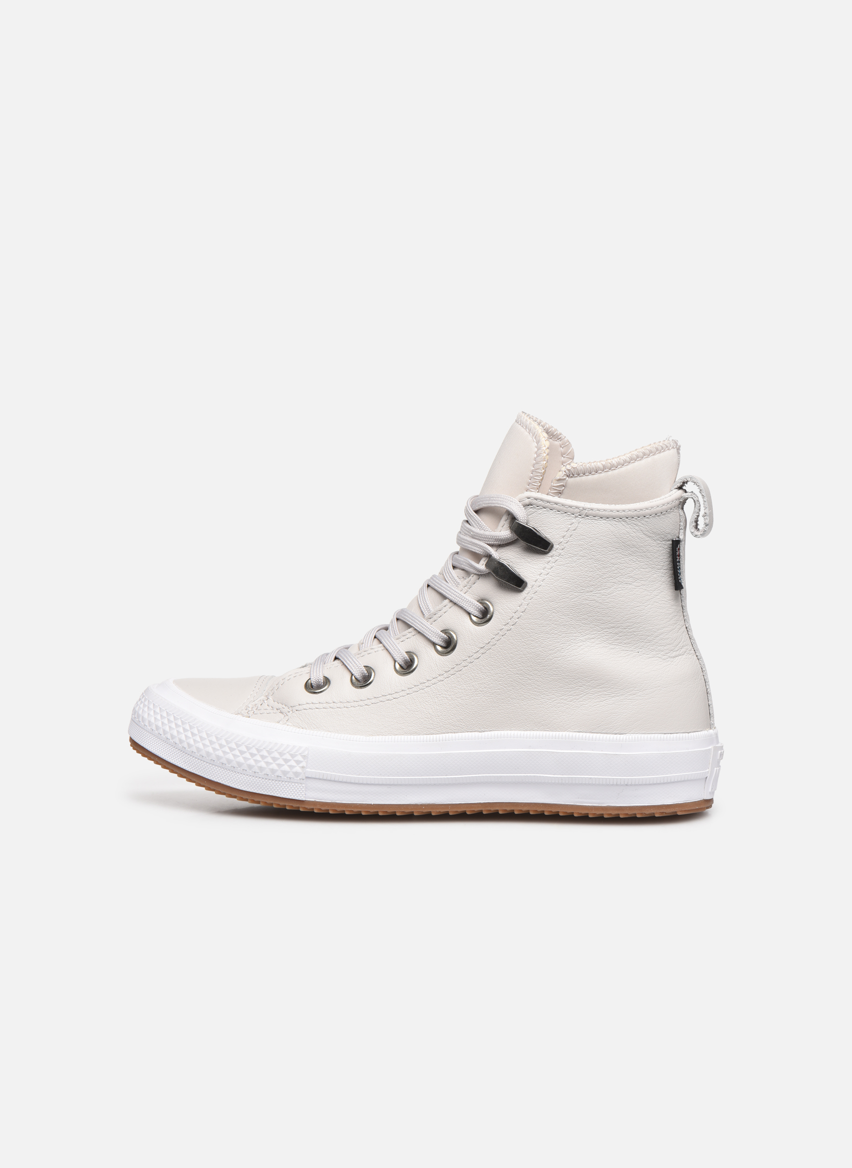 Deportivas Converse Chuck Taylor WP Boot WP Leather Hi Gris vista de frente