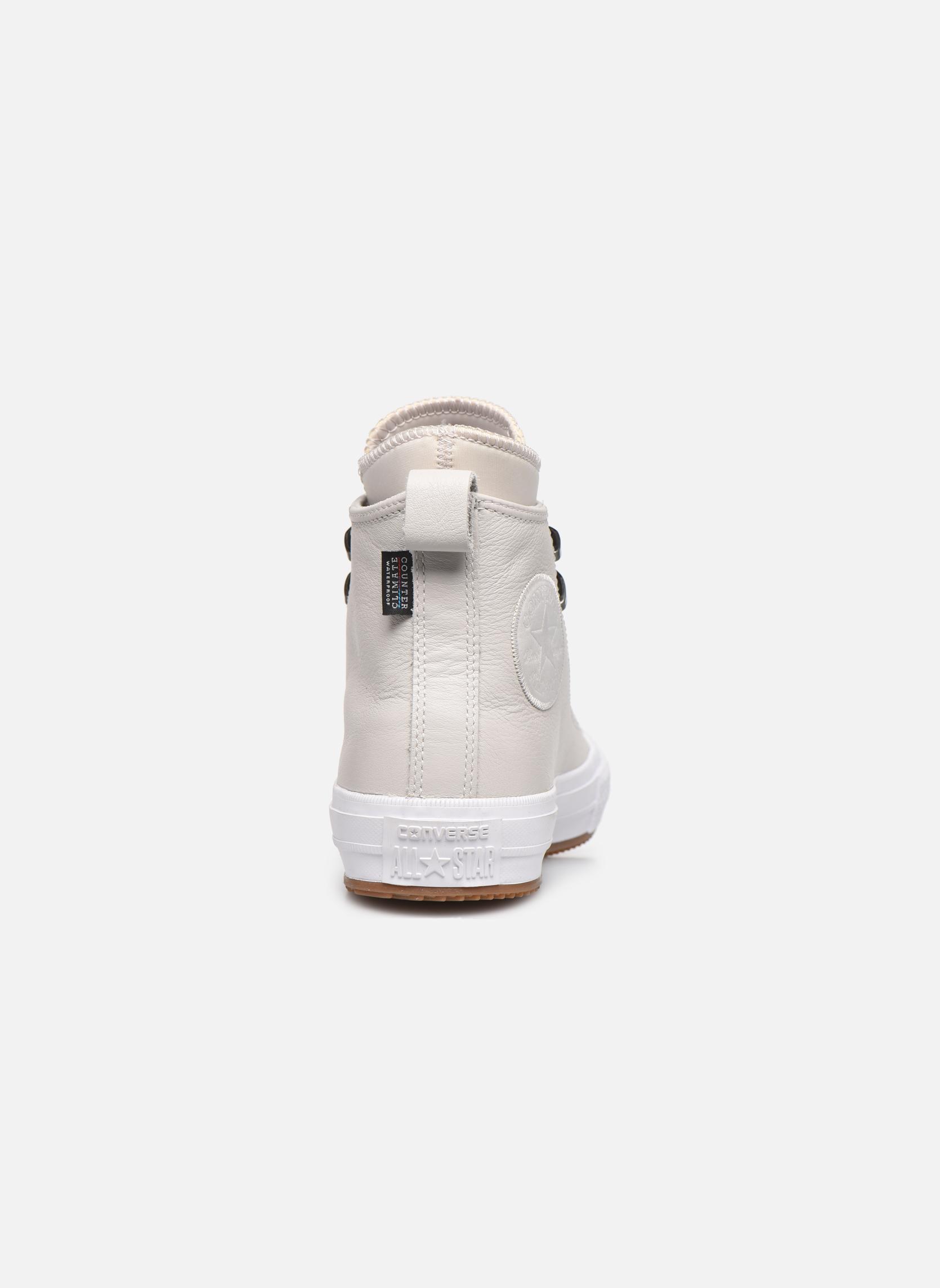 Baskets Converse Chuck Taylor WP Boot WP Leather Hi Gris vue droite