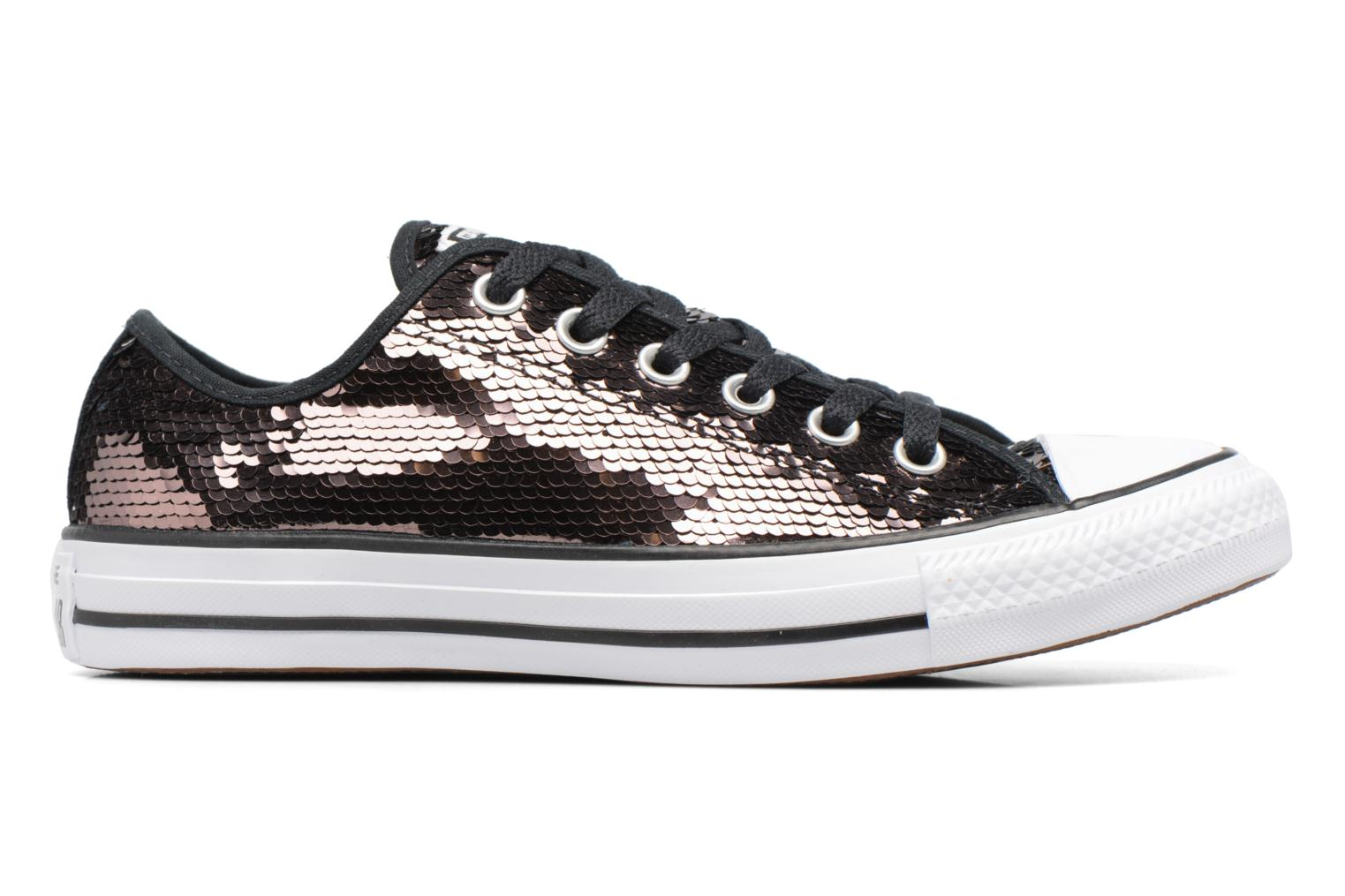 Baskets Converse Chuck Taylor All Star Sequins Ox Marron vue droite