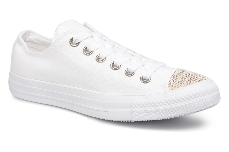 Zapatos promocionales Converse Chuck Taylor All Star Sequins Ox (Blanco) - Deportivas   Venta de liquidación de temporada