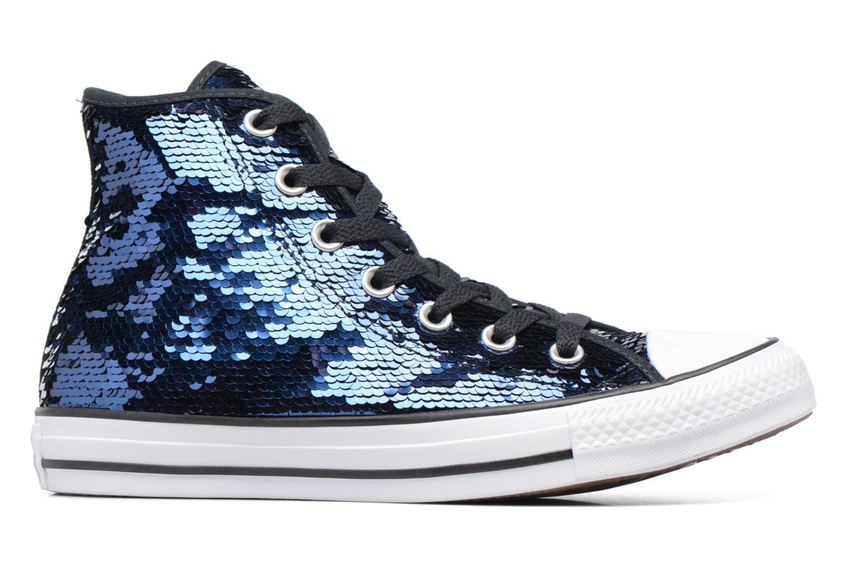 Sneakers Converse Chuck Taylor All Star Sequins Hi Azzurro immagine posteriore