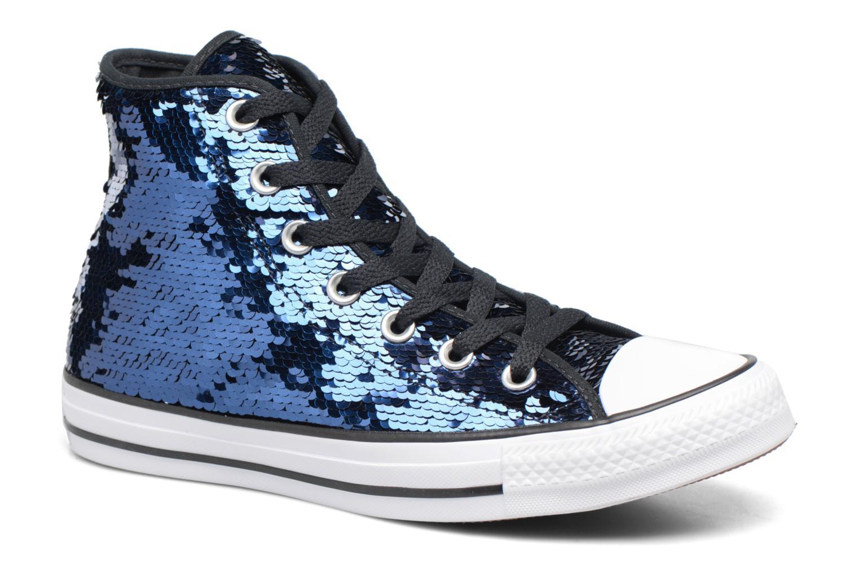 Sneakers Converse Chuck Taylor All Star Sequins Hi Azzurro vedi dettaglio/paio