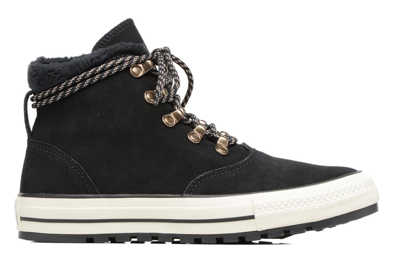 Bottines et boots Converse Chuck Taylor All Star Ember Boot Suede + Fur Hi Noir vue derrière