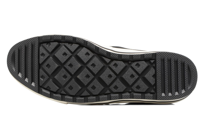 Bottines et boots Converse Chuck Taylor All Star Ember Boot Suede + Fur Hi Noir vue haut