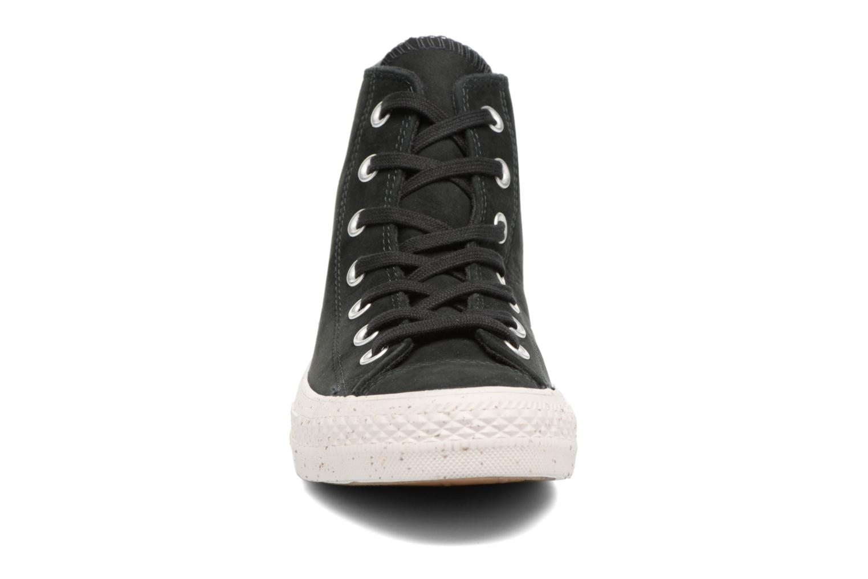 Baskets Converse Chuck Taylor All Star Nubuck Hi W Noir vue portées chaussures