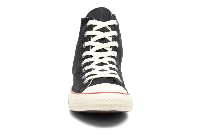 Baskets Converse Chuck Taylor All Star Ombre Wash Hi M Noir vue portées chaussures