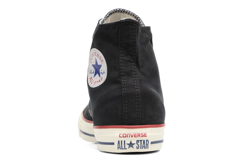 Baskets Converse Chuck Taylor All Star Ombre Wash Hi M Noir vue droite