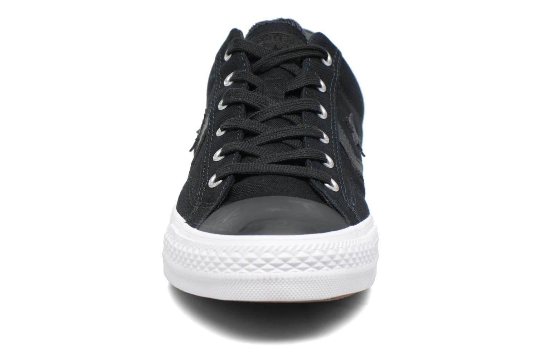 Baskets Converse Star Player Canvas with Gum Ox Noir vue portées chaussures