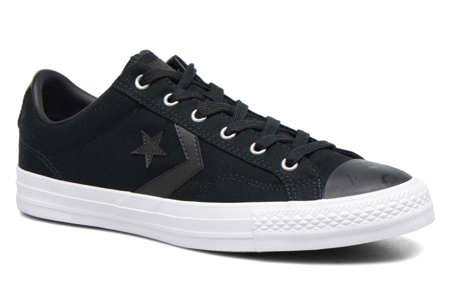 Converse Star Player Canvas with Gum Ox Negro XOMT66Tn