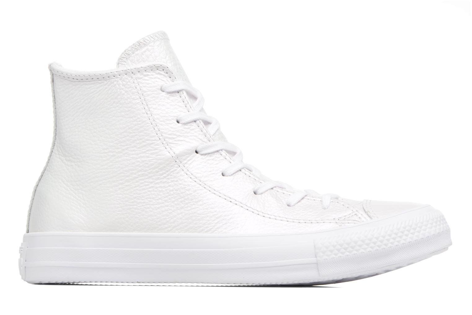Chuck Taylor All Star Iridescent Leather Hi White/white/white