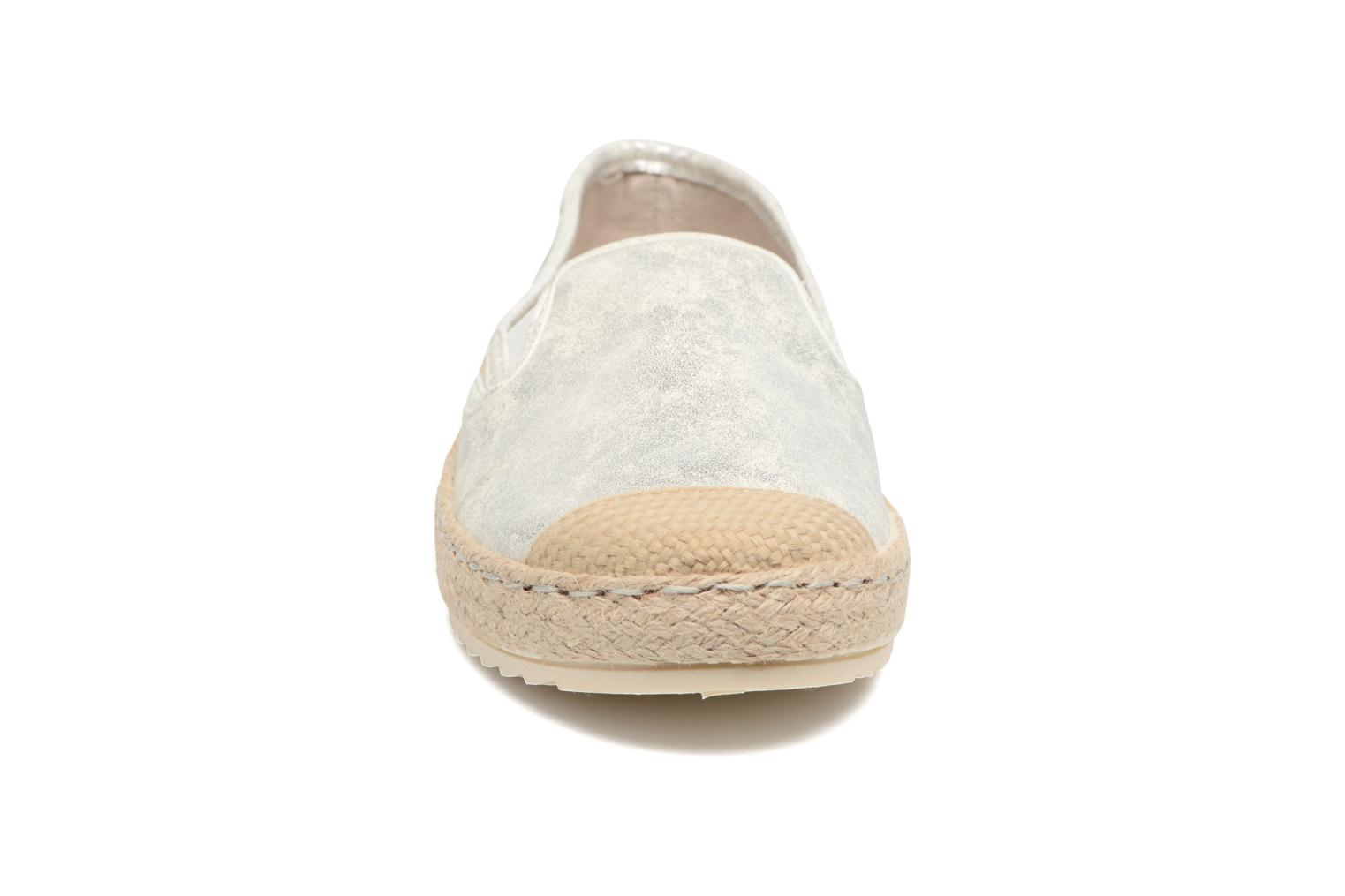 Espadrilles Mustang shoes Mocca Silver model view