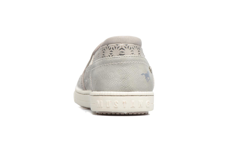 Baskets Mustang shoes Artysa Gris vue droite