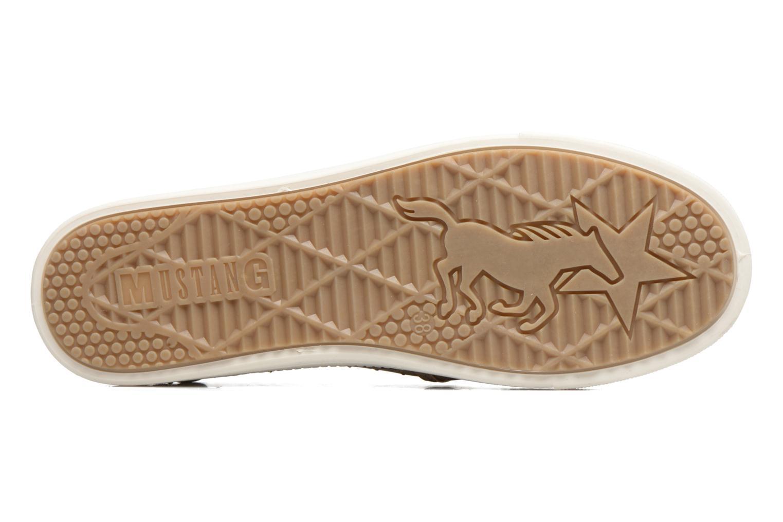 Baskets Mustang shoes Artysa Beige vue haut