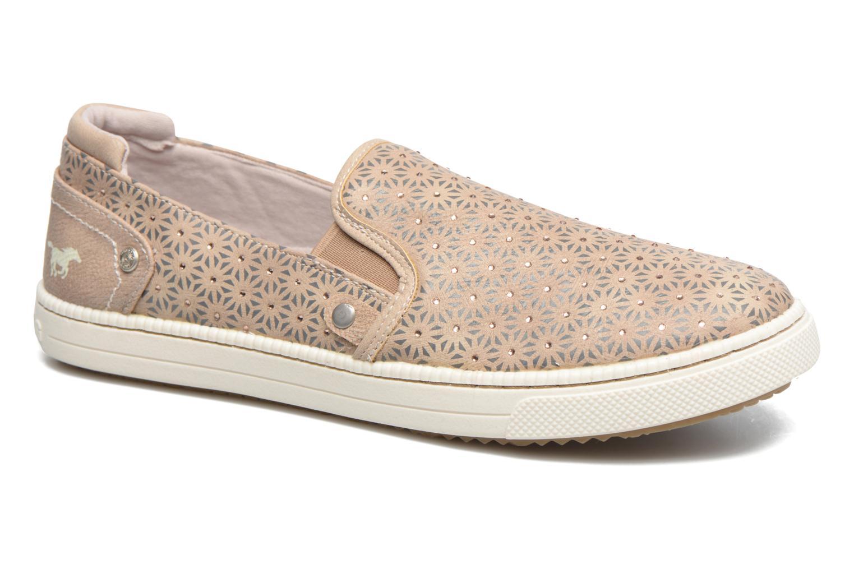Baskets Mustang shoes Artysa Beige vue détail/paire