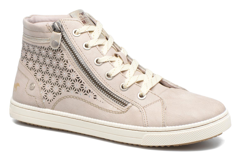 Baskets Mustang shoes Lira Beige vue détail/paire