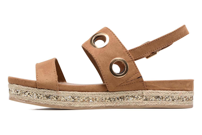 Sandales et nu-pieds S.Oliver Rocky Marron vue face