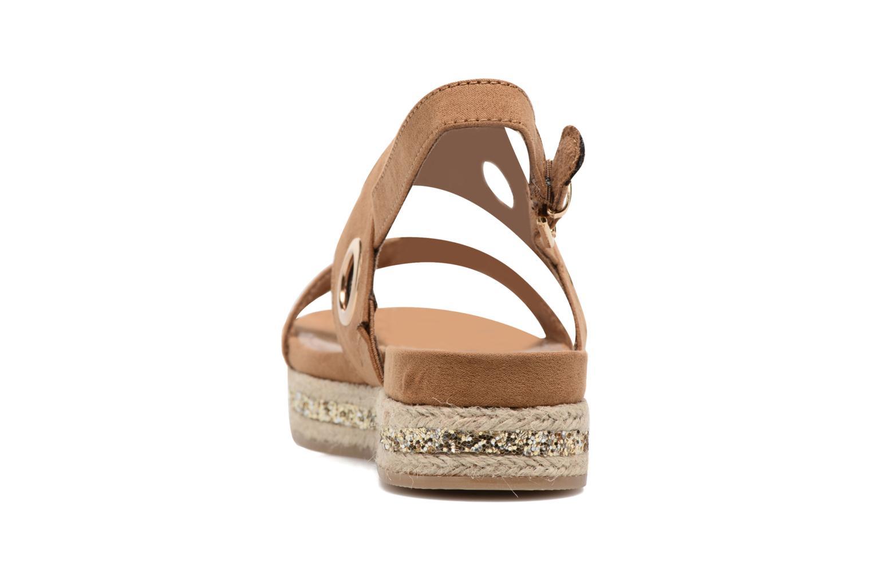 Sandales et nu-pieds S.Oliver Rocky Marron vue droite