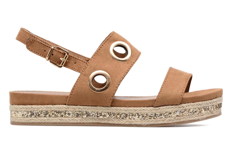 Sandales et nu-pieds S.Oliver Rocky Marron vue derrière