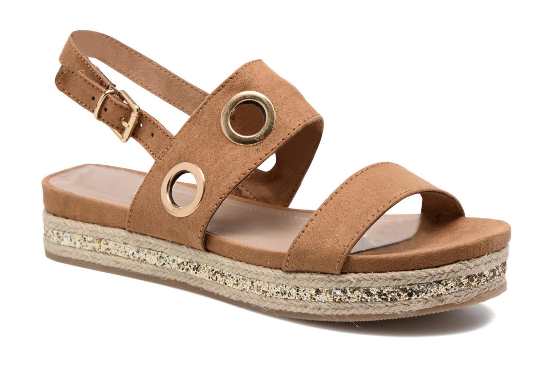 Sandales et nu-pieds S.Oliver Rocky Marron vue détail/paire