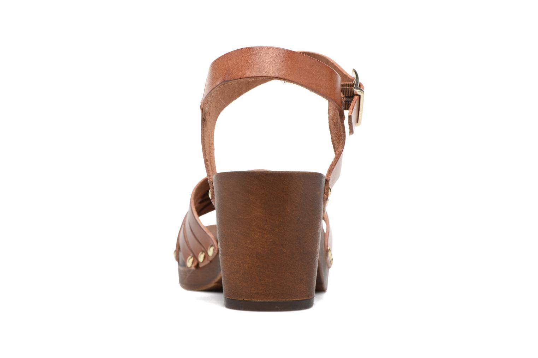 Sandales et nu-pieds S.Oliver Elly Marron vue droite