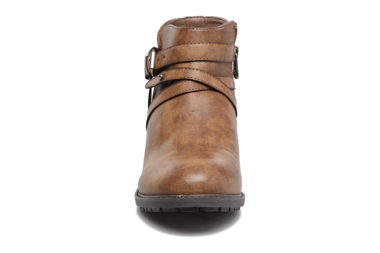 Bottines et boots Refresh Rosan Marron vue portées chaussures