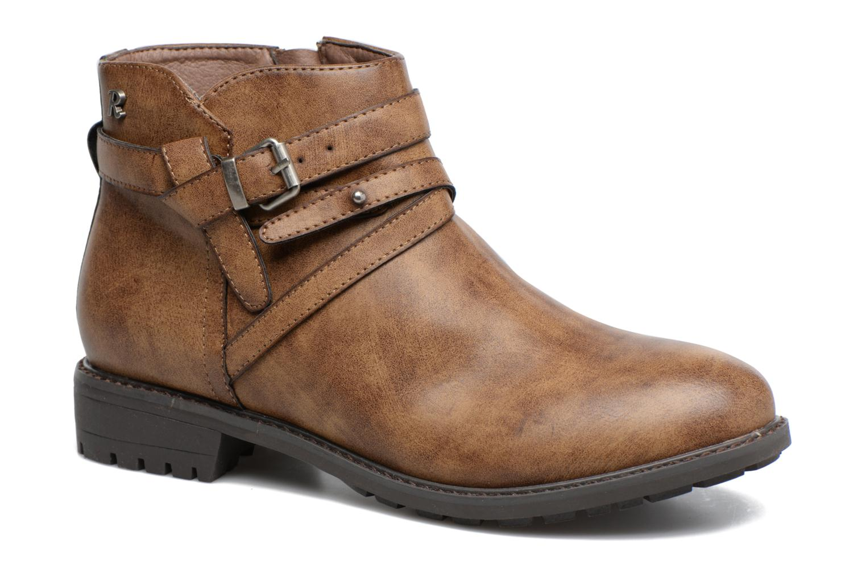 Bottines et boots Refresh Rosan Marron vue détail/paire