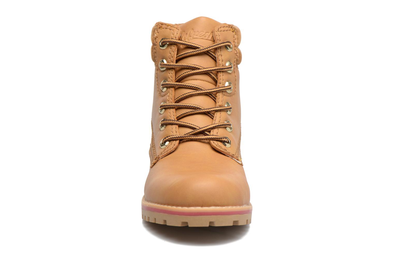 Bottines et boots Refresh Alicio Marron vue portées chaussures