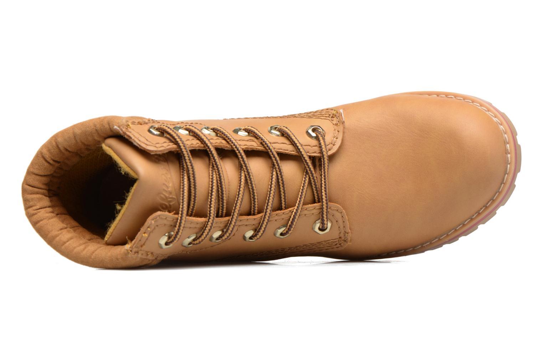 Bottines et boots Refresh Alicio Marron vue gauche