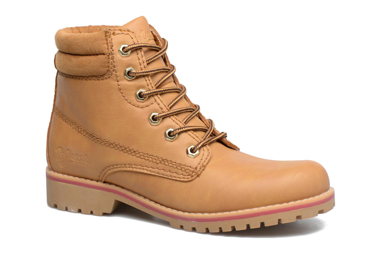 Bottines et boots Refresh Alicio Marron vue détail/paire