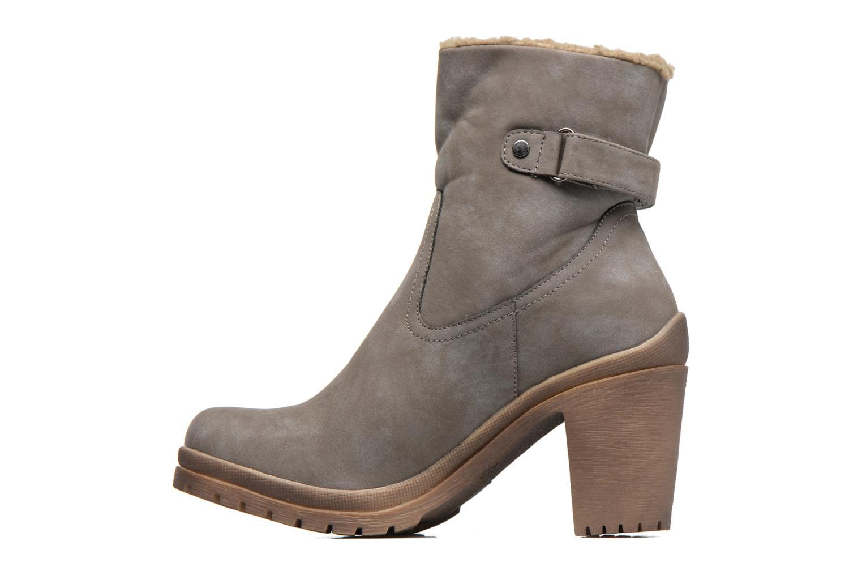 Bottines et boots Refresh Violettina Gris vue face