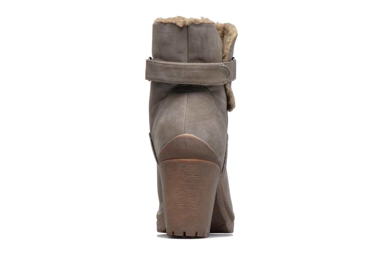 Bottines et boots Refresh Violettina Gris vue droite