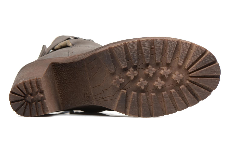 Bottines et boots Refresh Violettina Gris vue haut