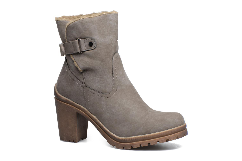 Bottines et boots Refresh Violettina Gris vue détail/paire